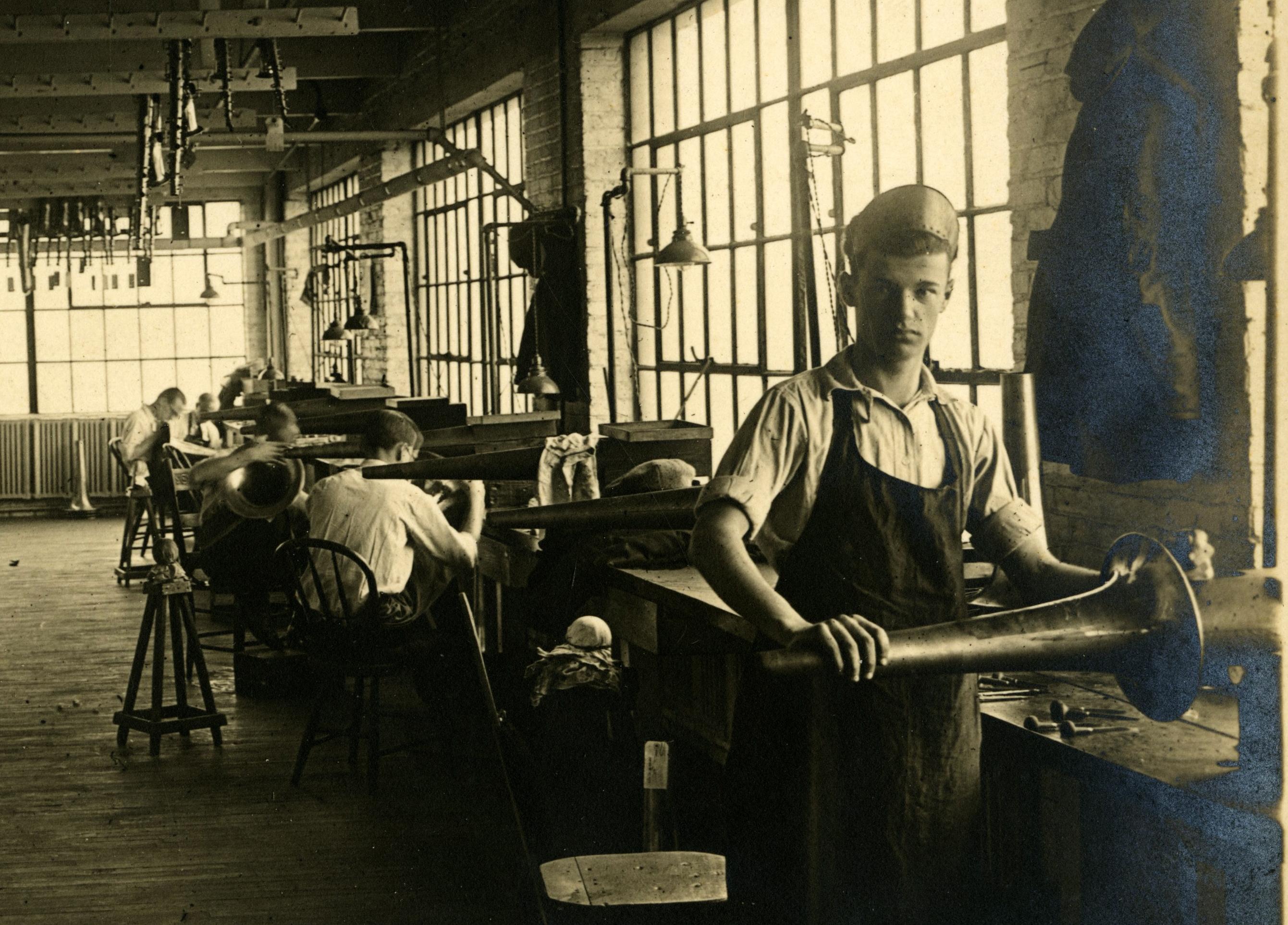 Charlie Terlep Buescher Manufacturing